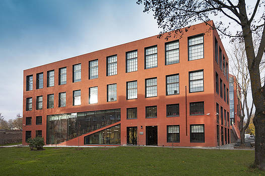 Modern Architecture The Red Brick by Jaak Nilson