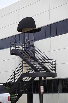 Modern Art Stairs by Sheri Bartay