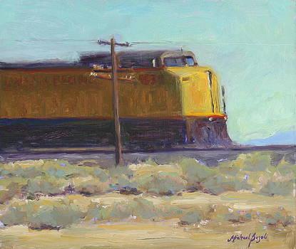 Mojave Train by Michael Besoli