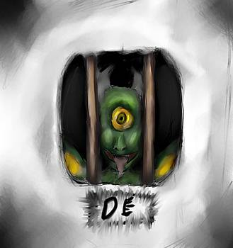 Mom there is a monster. by Dakota Eichenberg