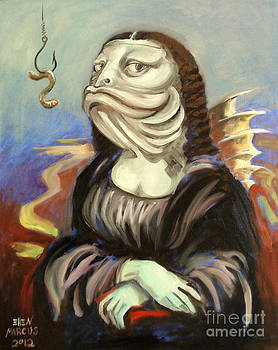 Mona Lisa as a Fish by Ellen Marcus