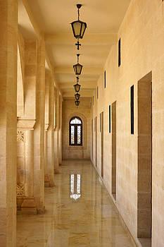 Michele Burgess - Monastery Passageway