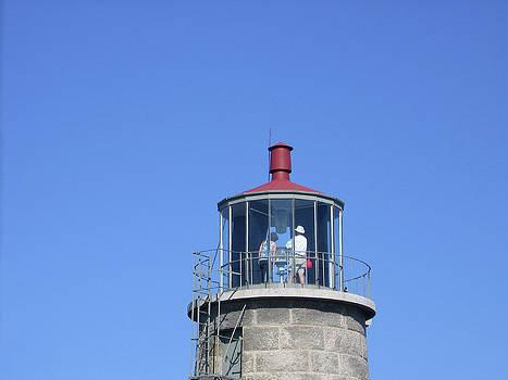 Monhegan Island Lighthouse by J R Baldini M Photog Cr