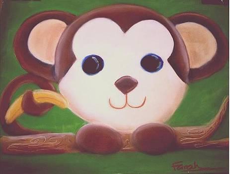 Monkey and the banana by Farah Cinquegrani