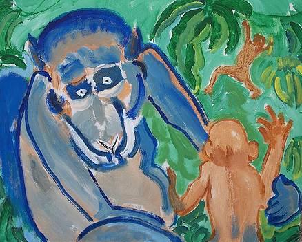 Monkey Blue by Jay Manne-Crusoe