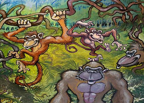 Monkey Business by Kevin Middleton