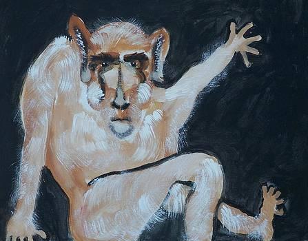 Monkey White by Jay Manne-Crusoe