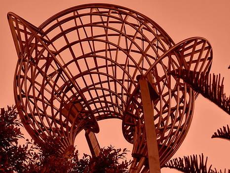 Monochrome Sphere by Lynette McNees