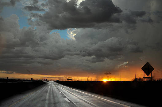 Monsoon sunset by Kenny Jalet