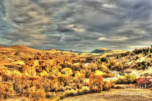 Montana Fall on Highway 200 by William Kelvie