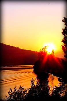 Montana Sunset by Connie Zarn
