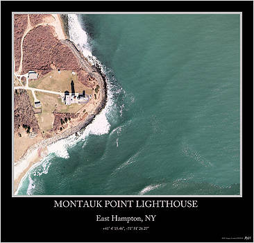 Montauk Point Lighthouse by Adelaide Images
