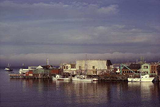Monterey Bay by John Wolf