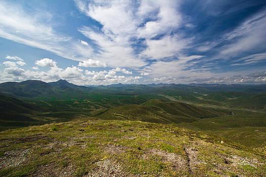Monument Overlook Eureka Alaska by Kelly Turnage