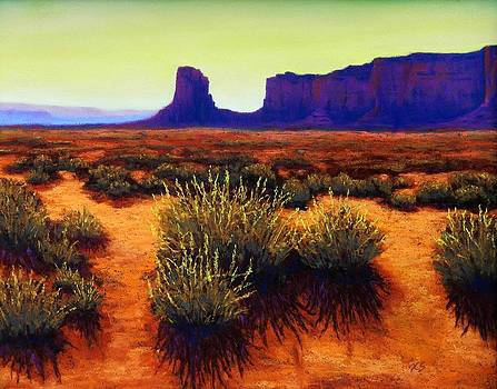 Monument Valley 1 by Xenia Sease