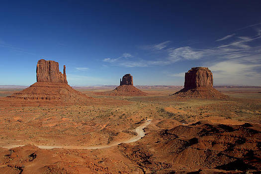 Monument Valley Buttes by Gordon Donovan