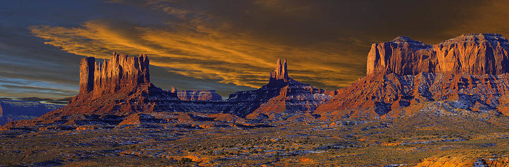 Monument Valley Sunrise by Kenneth Eis