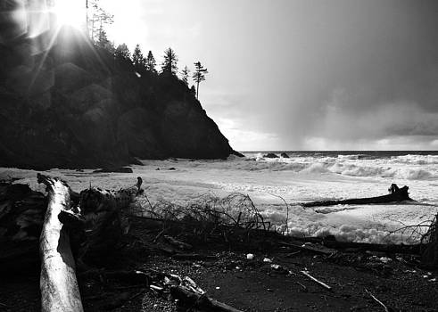 Moody Pacific at La Push by Christine Burdine