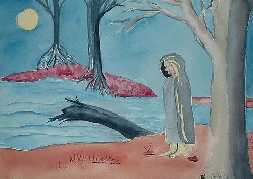 Moon Blanket by Linda Pope