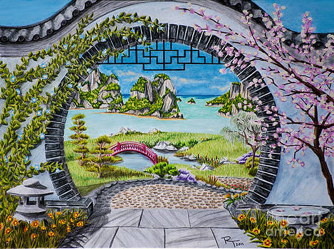 Moon Gate by Robert Thornton