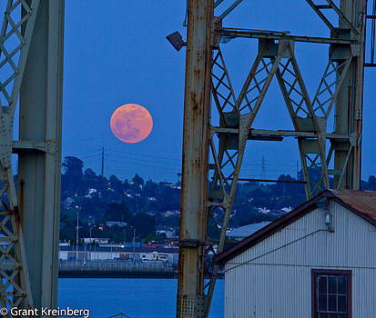 Moon over Mare Island by Grant Kreinberg