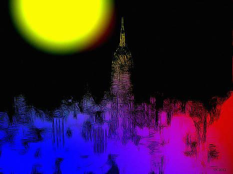 Steve K - Moon over New York