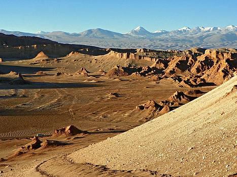 Moon Valley Atacama Desert by Sandra Lira