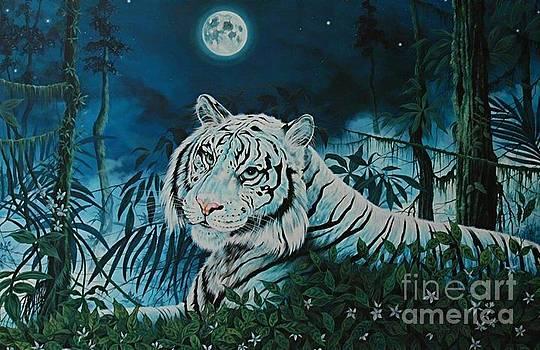 Moonlight Tiger by Kimberlee  Ketterman Edgar