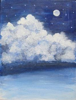 Moonlit night by Sonali Singh