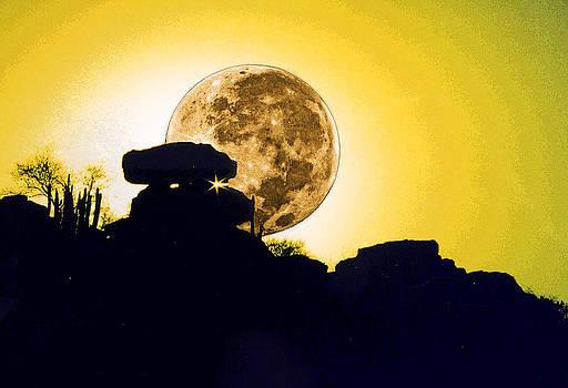 Moonrise by Jesus Nicolas Castanon