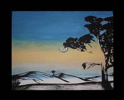 Moonsky by Riley Howlett