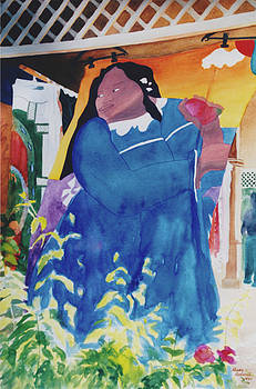 Moorea Pareo Gauguin by Eve Riser Roberts