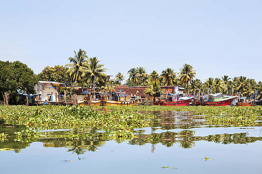 Kantilal Patel - Moored Kerala Fishing Boats