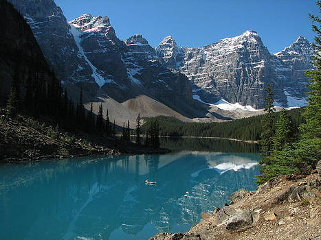 Moraine Lake by Keith Rohmann
