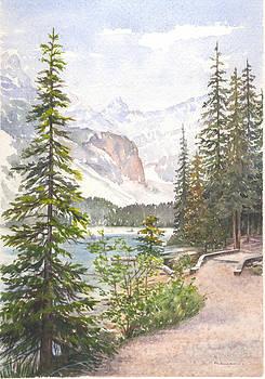Moraine Lake by Maureen Carter