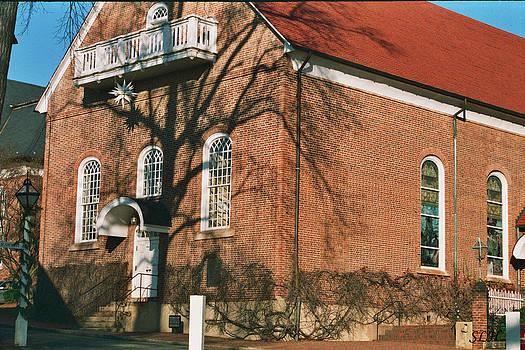 Lee Hartsell - Moravian church