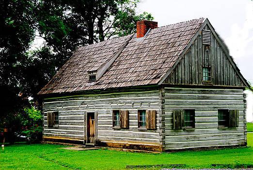 Moravian Cottage by Gordon H Rohrbaugh Jr