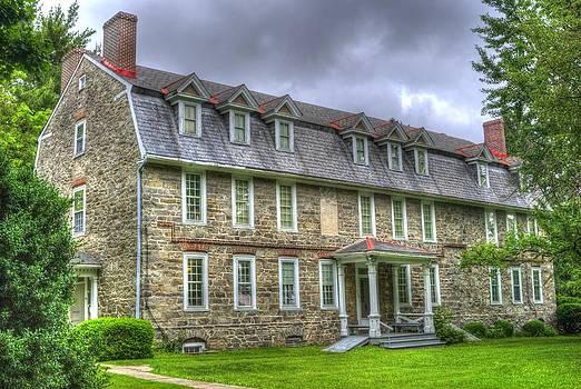 Moravian House Narazeth Pa by Gordon H Rohrbaugh Jr