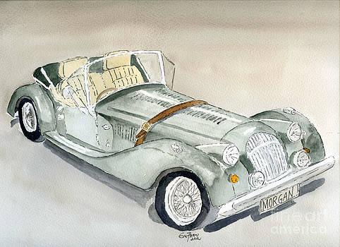 Morgan Sports Car by Eva Ason