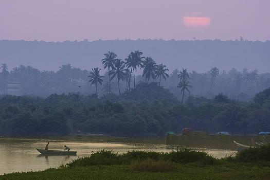 Morning at Vengurla by Sydney Alvares