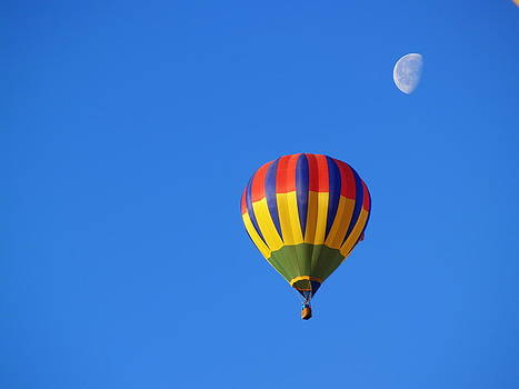 Morning Ballon Fly by Carrie Putz