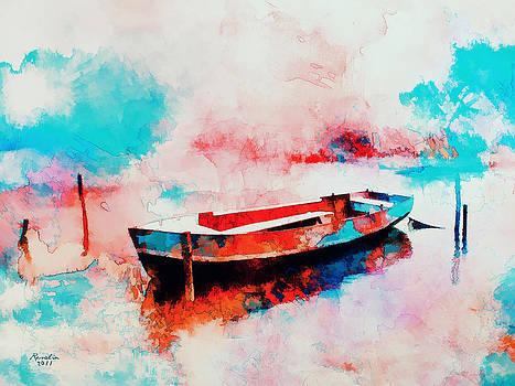 Morning Boat  by Rosalina Atanasova
