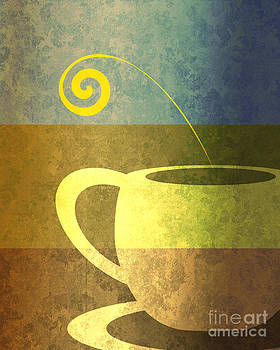 Morning cup II by Lea Velasquez