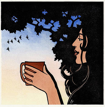 Morning Cup V by Jonathan Day