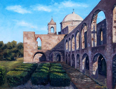 J P Childress - Morning Light at the Mission