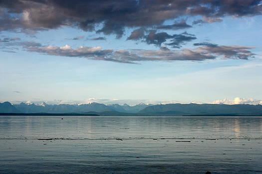 Morning ocean view by Tanya Peters