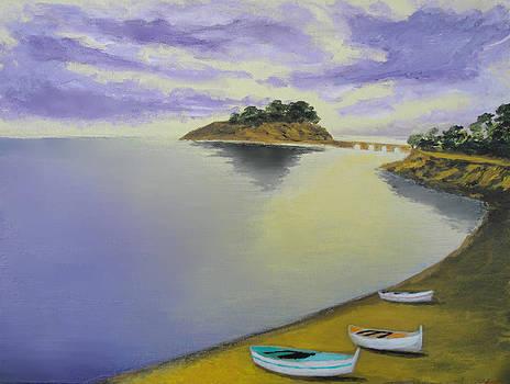Morning Sea by Larry Cirigliano