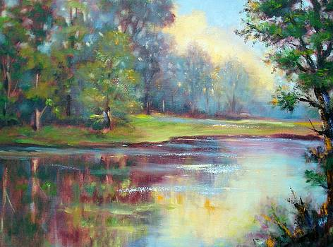 Morning Sunlight by Holly LaDue Ulrich