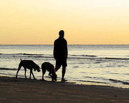Morning Walk by Brian M Lumley