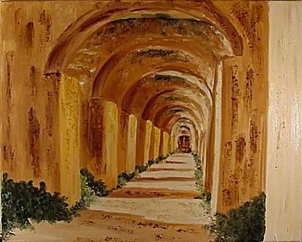 Moroccan Arches by Antonella Manganelli